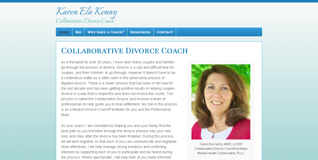 Karen Ela Kenny   Collaborative Divorce Coach