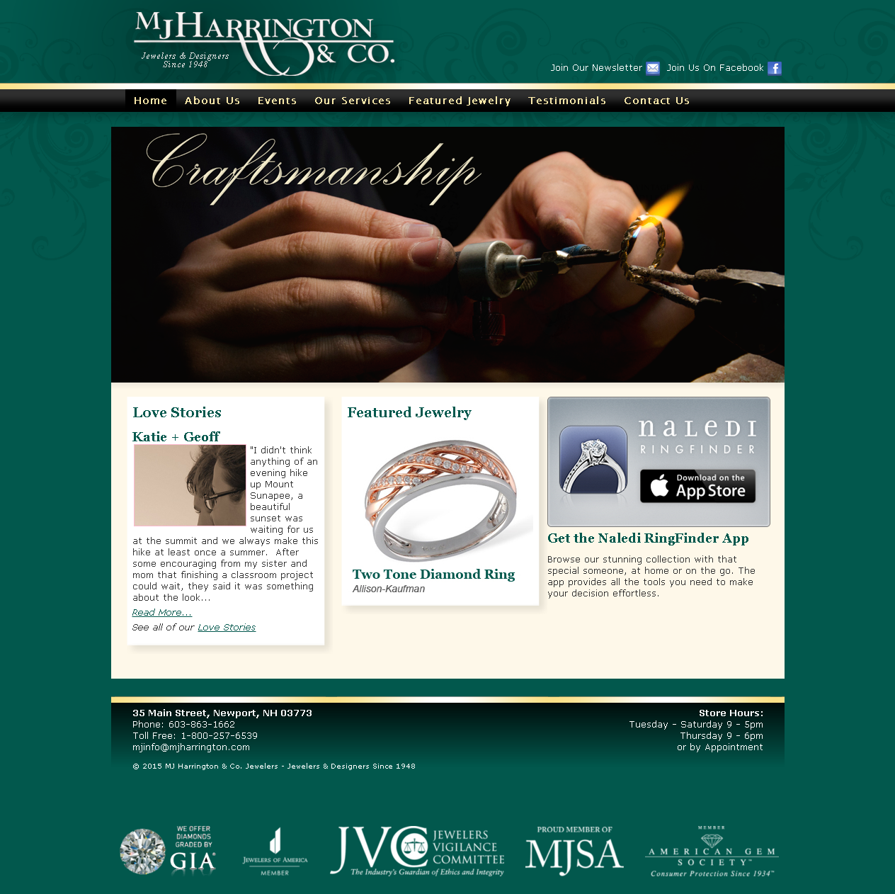 MJ Harrington & Co. Jewelers