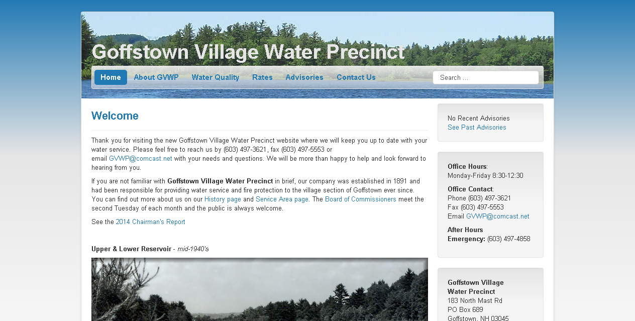 Goffstown Village Water Precinct – KimballRexford com