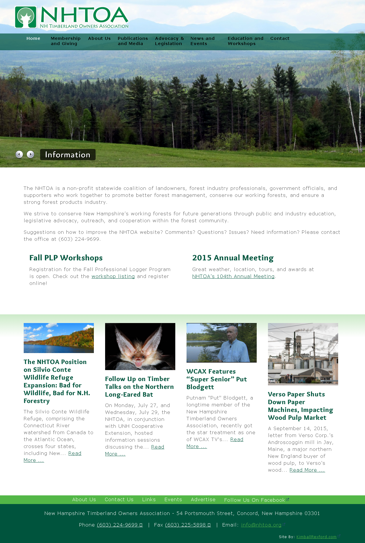 New Hampshire Timberland Owners Association