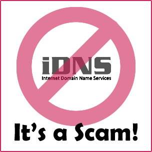 Who is iDNS and Should I Pay Them?
