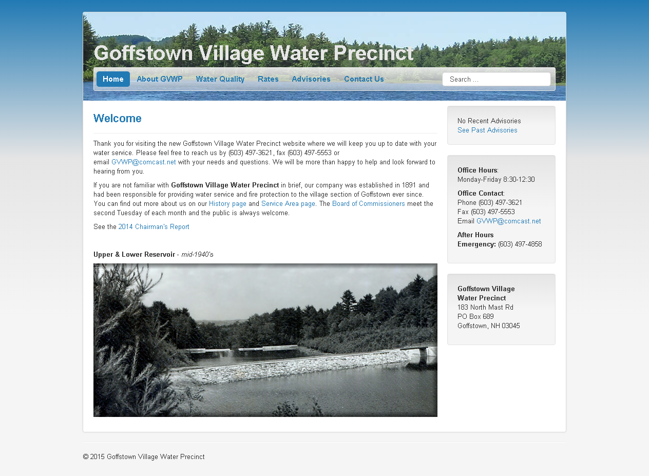 Goffstown Village Water Precinct