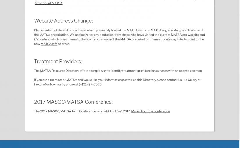 MATSA.info