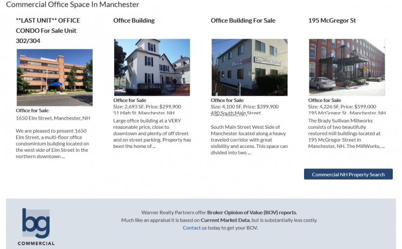 Warner Realty Partners – Real Estate Website